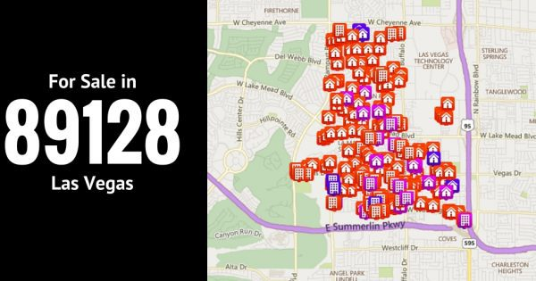 89128 las vegas zip code map 2017 current listings