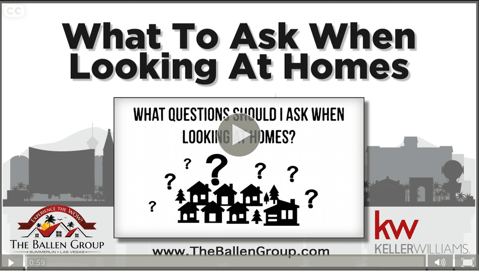 What questions should i ask when looking at homes in las for Questions to ask new home builders
