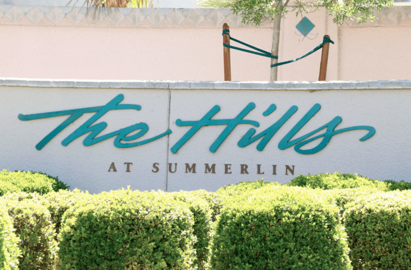 the hills village in summerlin 2017 current listings