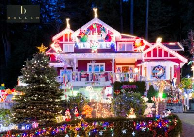 Interactive Map Of Best Christmas Light Displays In Las