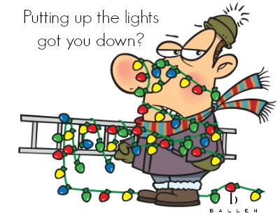 Christmas Light Installation SM