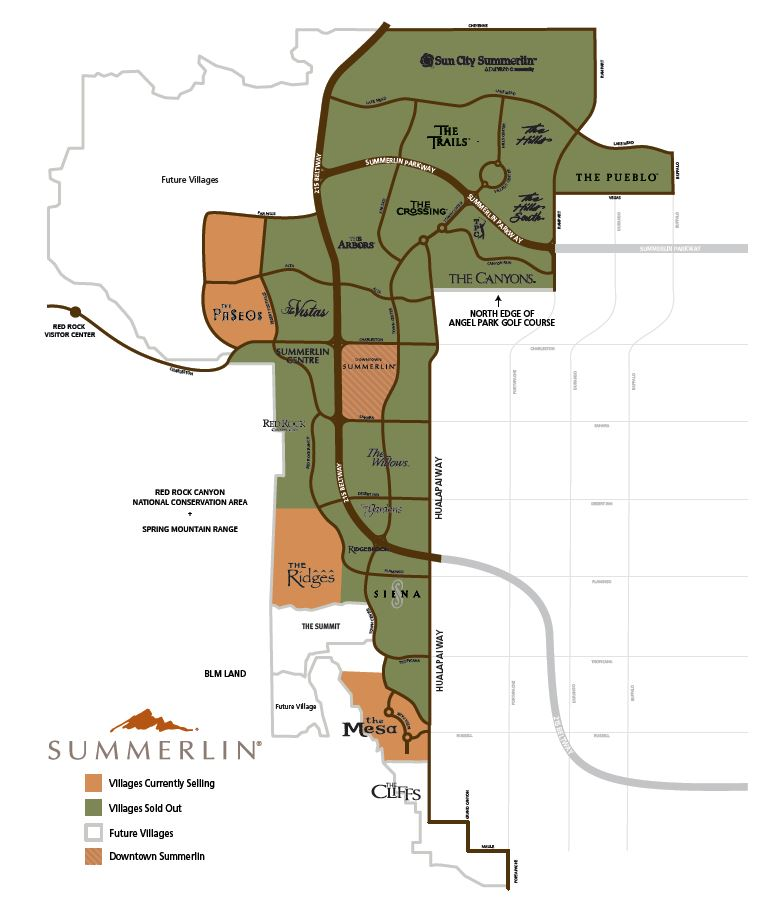 Summerlin Borders