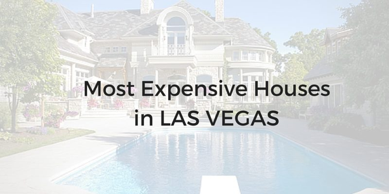 most expensive homes in las vegas 2017 photo