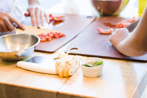 Cooking classes at Sur La Table