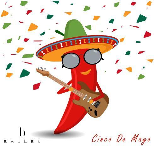 Cinco De Mayo Cartoon Pepper
