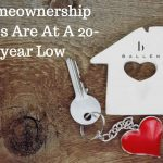 Homeownership Rates Are At A 20-year Low