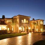 Outside Luxury Home