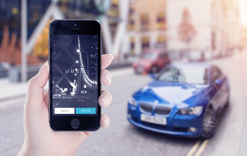 order Car from Cell Phone - Lyft and Uber
