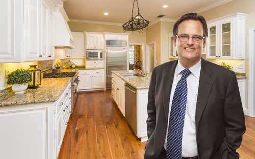 REALTOR Shows property to prospective buyers