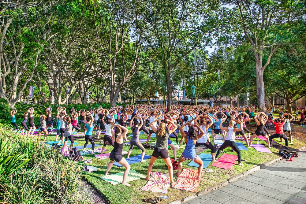 Yoga On the Lawn – Things to Do in Summerlin