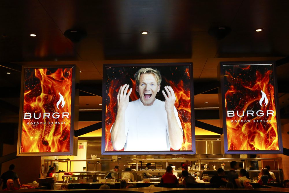 Goron Ramsey's Hells Kitchen in Las Vegas, NV