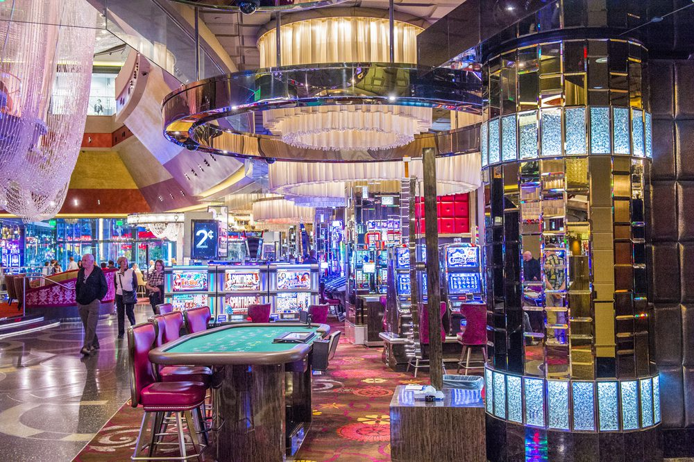 Inside of the Cosmopolitan Hotel in Las Vegas