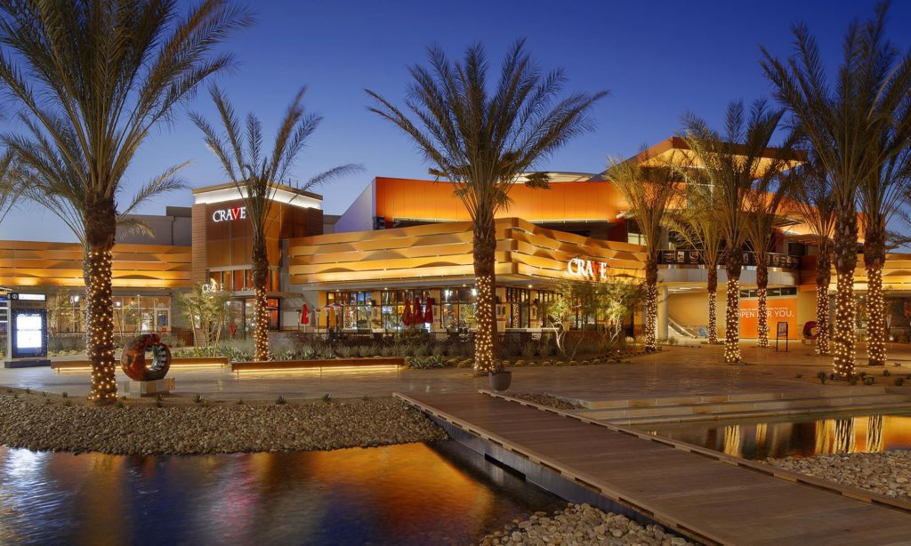 Summerlin South shopping mall and dining