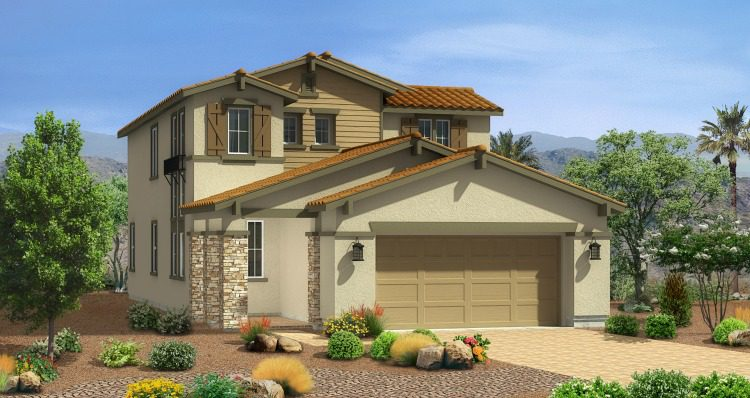 Woodside Homes Skye Canyon Model Home - Casper