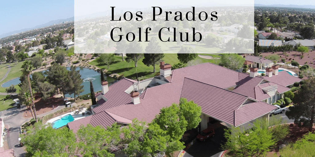Homes on the Golf Course of Los Prados Golf Club, golf view, roof tops, ariel view