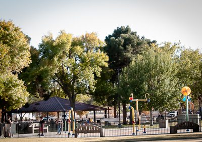 picture of a park in the 89103 zip code of Las Vegas