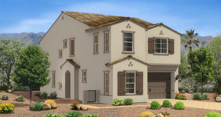 Model Home Victoria Model by Woodside Homes