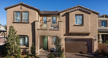 Berkshire New Home Model by Lennar, Day time shot, Southwest Las Vegas