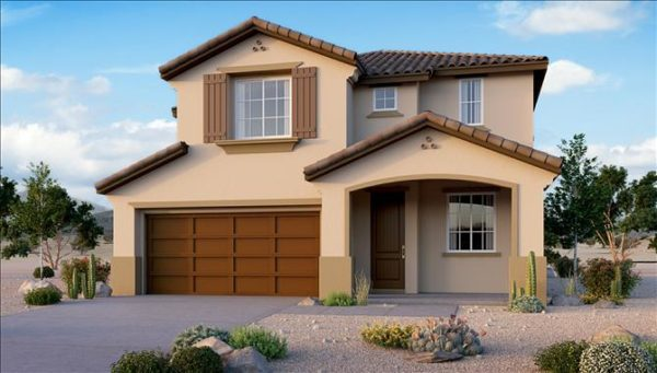 Beazer Homes Celeste Model at San Gregorio in Henderson