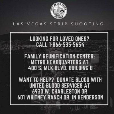 City of Las Vegas Shooting Information
