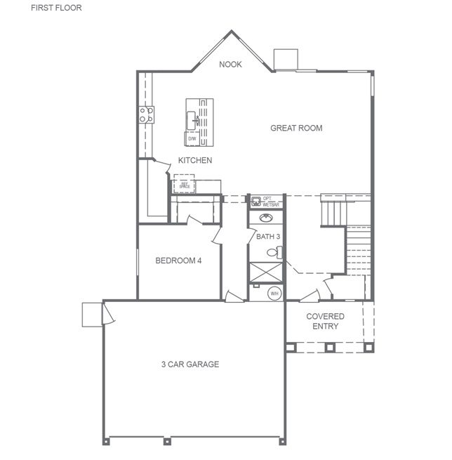 2780 floorplan at Artesia Cove by DR Horton