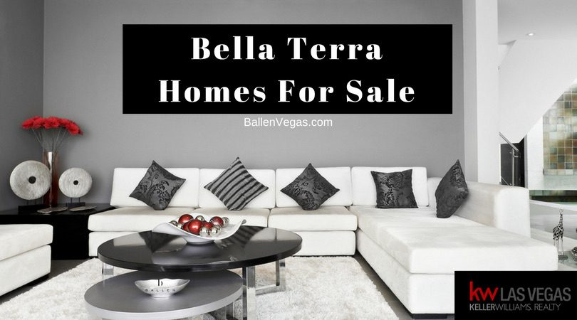 Living at Bella Terra in Southern Highlands 89141
