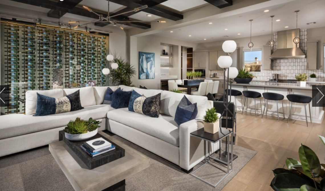 Beautiful open floorplan inside Fairway Hills at the Ridges by Toll Brothers