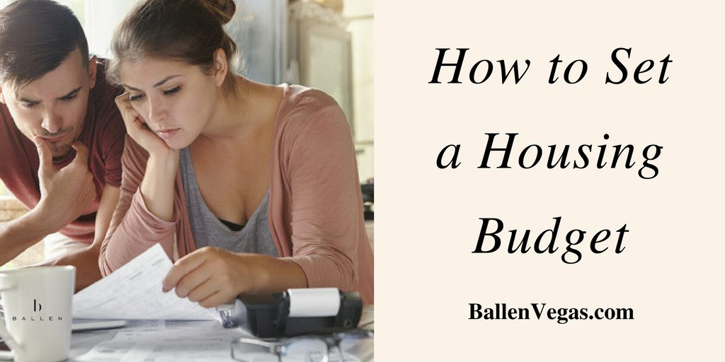 How to Create a Monthly Housing Budget