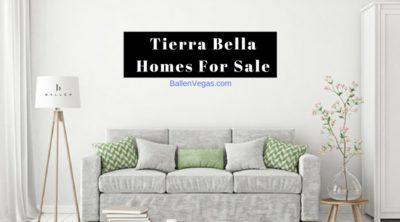 Tierra Bella Homes For Sale