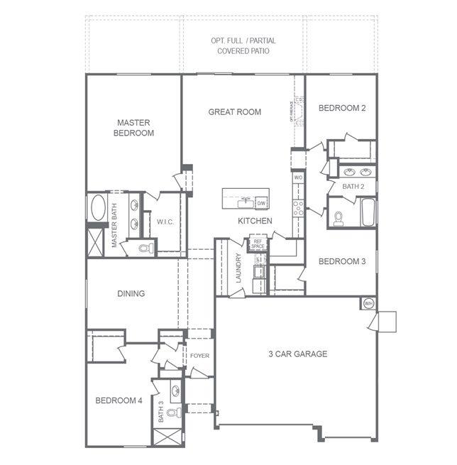 Sunset Manor Floorplan 2430