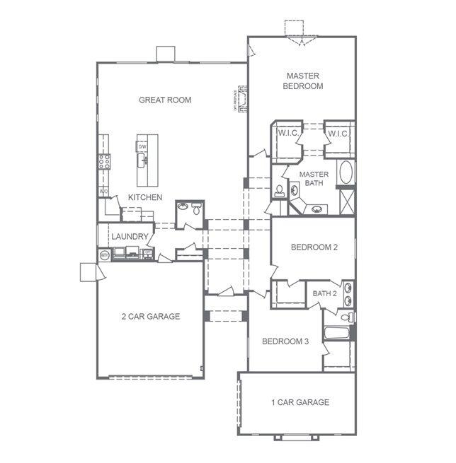DR Horton Sunset Manor Floorplan 2530