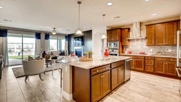 Beautiful Kitchen is showcased in Monarch Manor in Northwest Las Vegas 89149