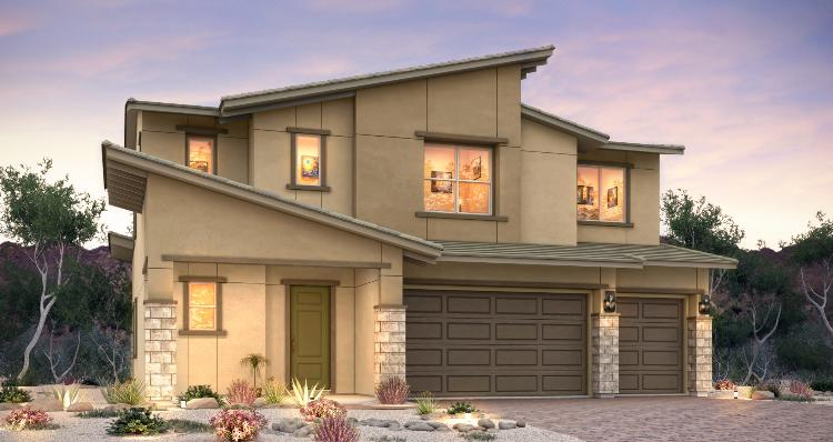 Model Home at Skystone by woodside homes