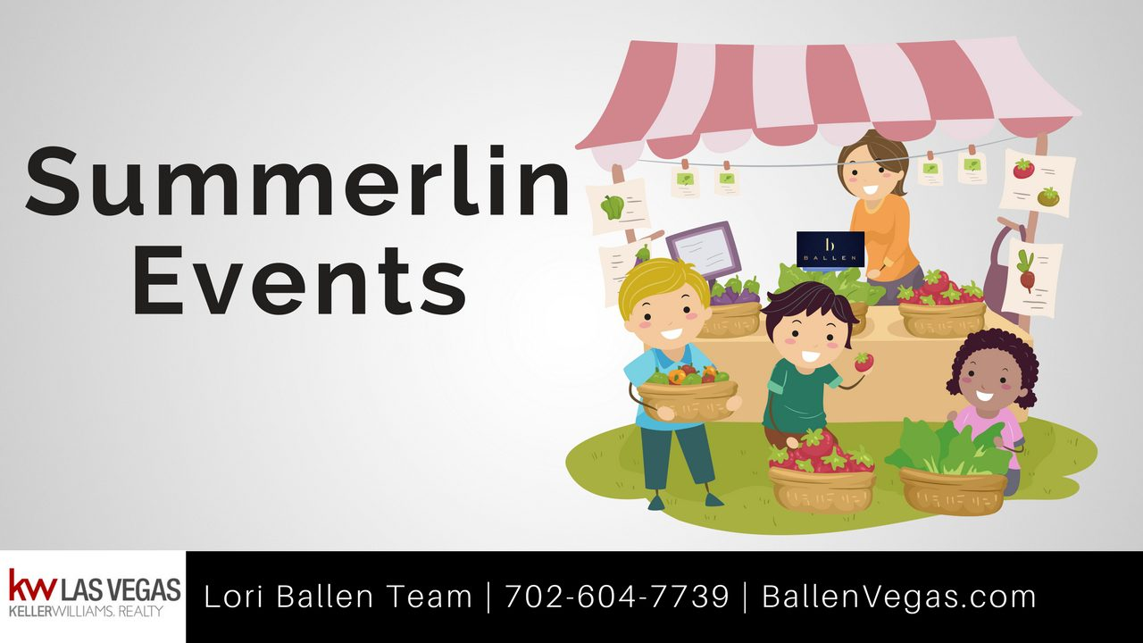 Summerlin Events in 2018