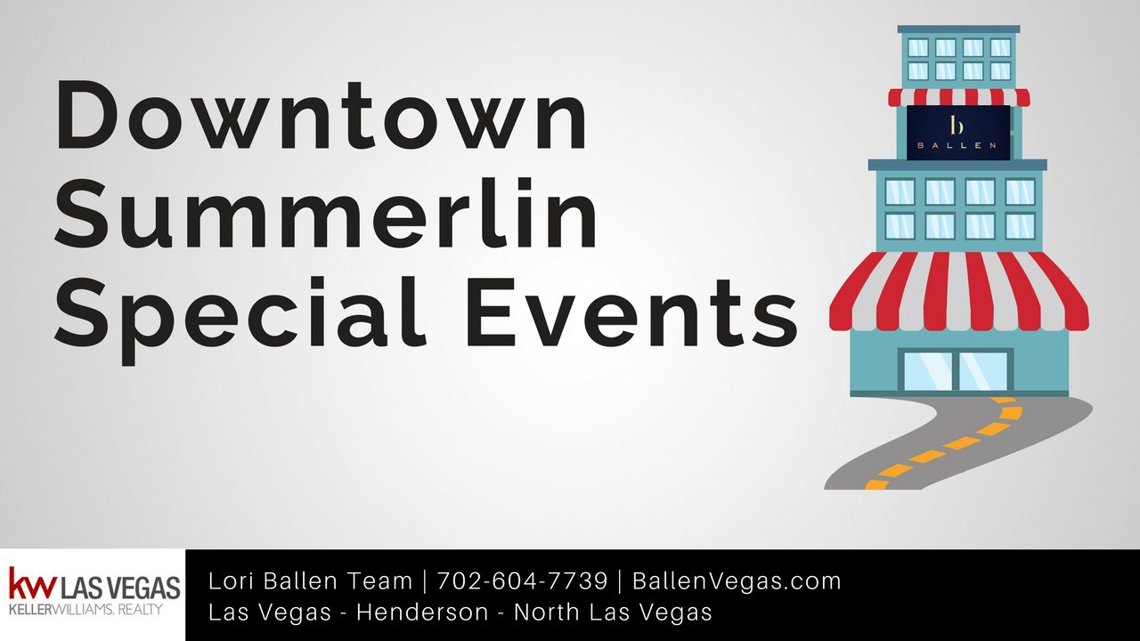 Downtown Summerlin Events
