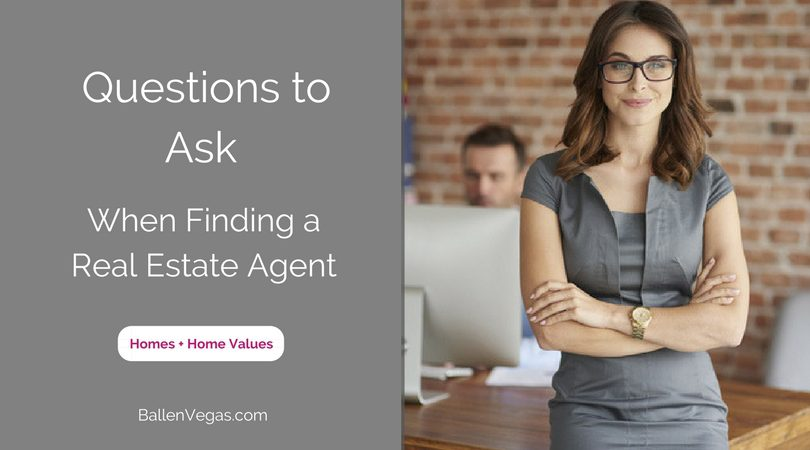 Questions to Ask when Finding a Real Estate Agent