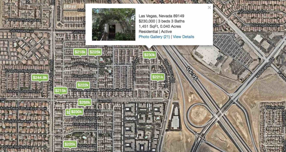 Homes Near Arbor View High Under 300K