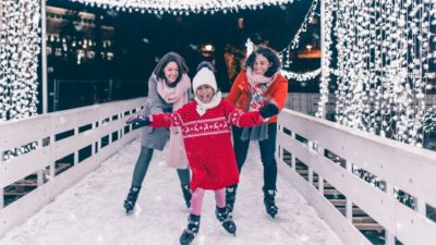 The ice rink is located at the Boulevard Tower pool and opens seasonally. For those visiting Las Vegas for a glitz and glamour winter Holiday, or for residents who just want a White Christmas, the Cosmo's Ice Rink is an ideal place to bring the family.