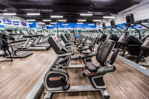 A large gym with top notch facilities