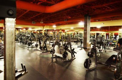 A spacious gym with top of the line facility