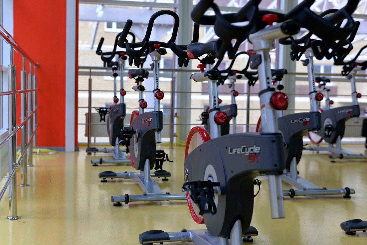 A bright and spacious gym with new equipment