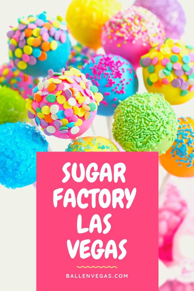 Founded by Charissa Davidovici whose original idea to make a lollipop that could be taken home; Sugar Factory Las Vegas is themed with candy, cocktails, and milkshakes as its core values.