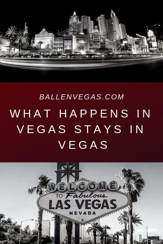 2 pictures of las vegas and what happens in vegas stays in vegas