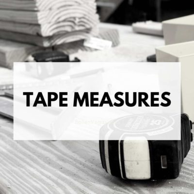 Be sure your tool shop includes handy tape measures for those DYI home projects. You can shop for a variety of tape measures here and have them delivered quickly to your house.