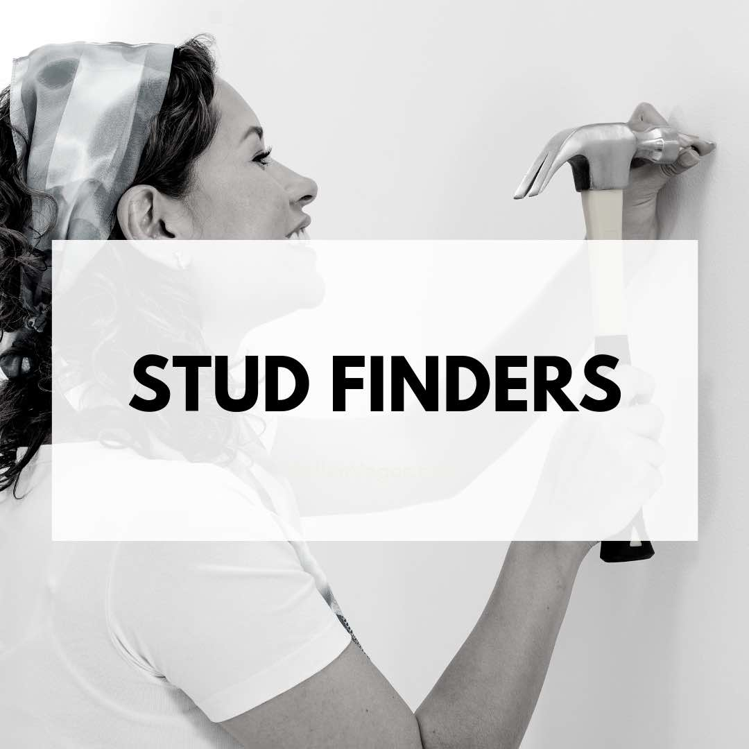 Be sure to have a stud finder if you are working on projects around the home. This is a tool that every homeowner should have for those fix-up projects and home decor.