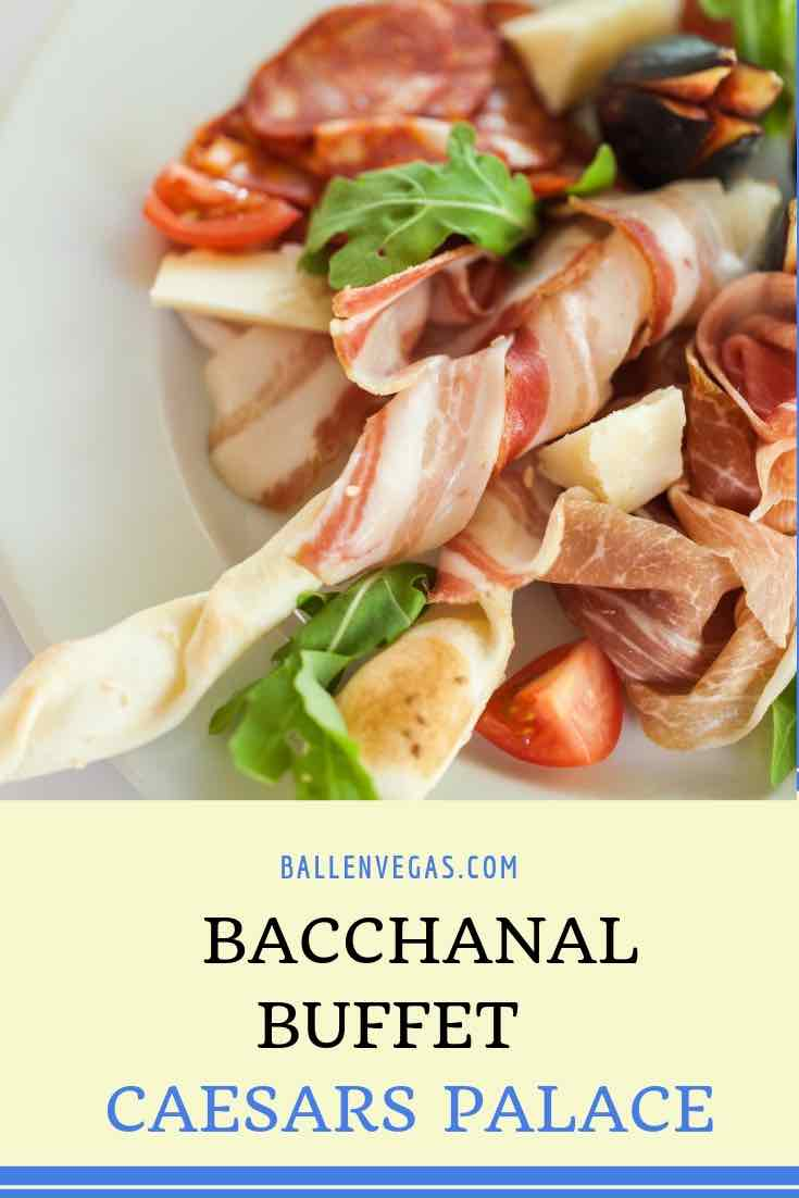 Picture of delicous food from the las vegas buffet Bacchanal at Caesars