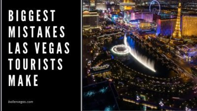 Las Vegas has built its tourism industry around encouraging visitors to behave recklessly. As such, it's not surprising that many tourists do behave more recklessly than they would on a normal vacation when they're in Vegas. During your upcoming trip, steer clear of the following common tourist mistakes in Vegas.