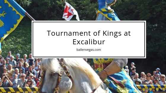 Step into the past and enjoy an amazing dinner show experience in Las Vegas. The Tournament of Kings at the Excalibur Hotel and Casino is located on the Las Vegas Strip.