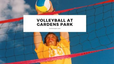 Join in for some Grass Volleyball at Gardens Park. This is a weekly meetup of the Las Vegas Volleyball Club. (Click to see current dates and times)