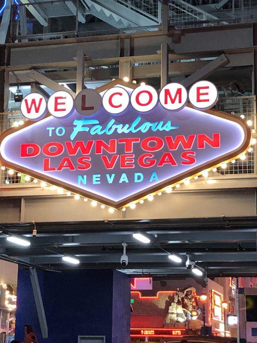 Welcome to Fabulous Downtown Las Vegas